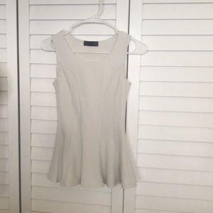 Body Central peplum blouse